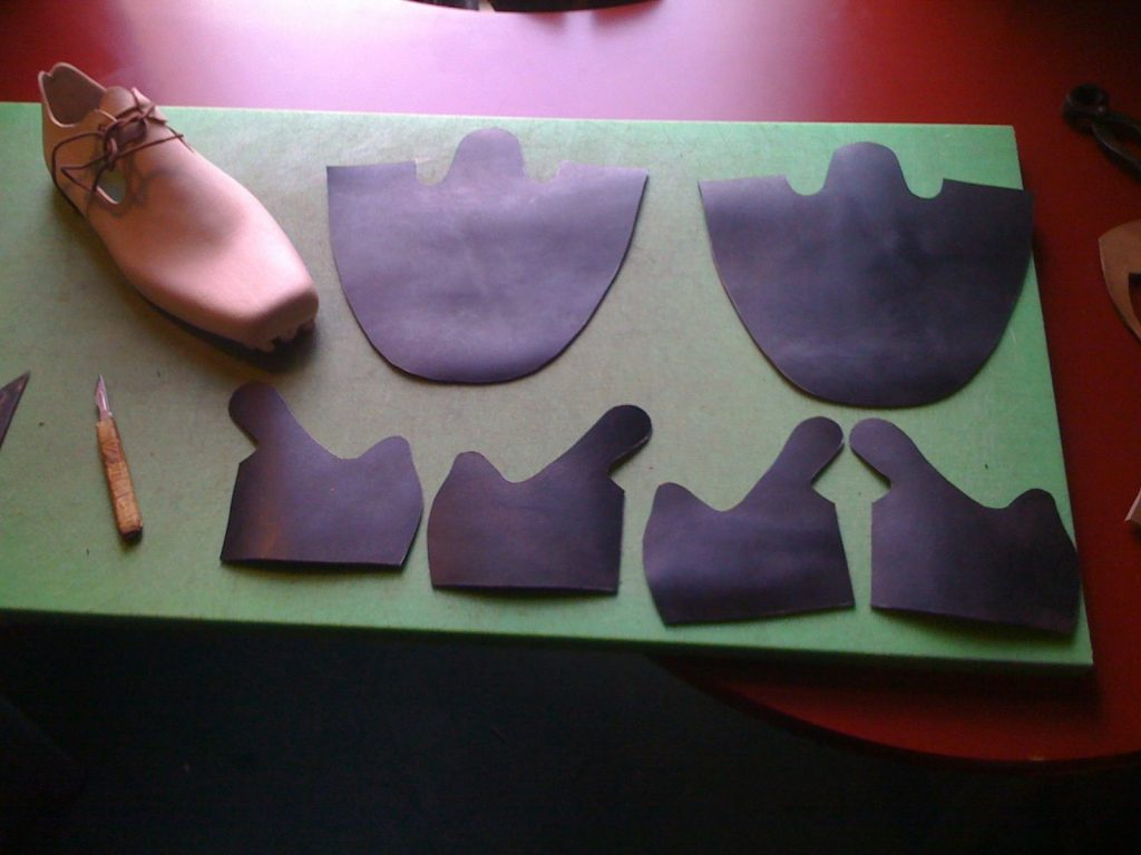 Peter Prince's provide an overview of the shoemaking process